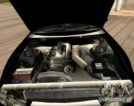 Nissan Skyline GT-R BNR32 Initial D Legend 2 N.K для GTA San Andreas вид справа