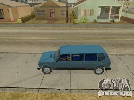 ВАЗ 2131 7-door [HQ Version] для GTA San Andreas вид слева