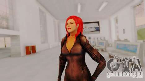 Scarlet Johansson - Black Widow для GTA San Andreas