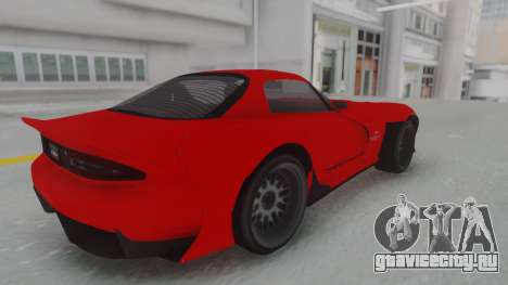 GTA 5 Bravado Banshee 900R Stock для GTA San Andreas вид сзади слева