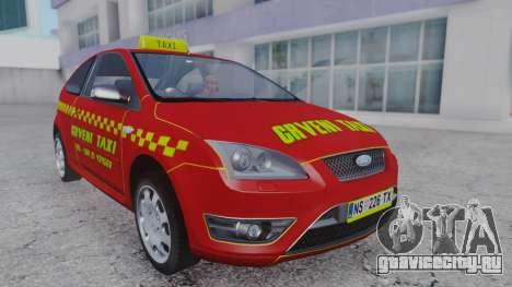 Ford Focus ST Taxi для GTA San Andreas
