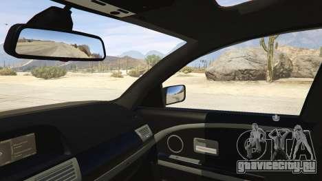 BMW 760i E65 для GTA 5 вид сзади справа