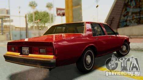 Chevrolet Impala 1984 для GTA San Andreas вид слева