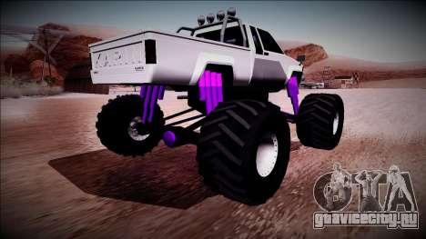 GTA 5 Karin Rebel Monster Truck для GTA San Andreas вид слева