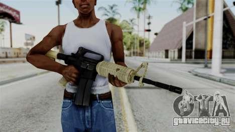 M16 A2 Carbine M727 v3 для GTA San Andreas третий скриншот