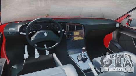 Peugeot Pars Spayder Sport для GTA San Andreas вид справа