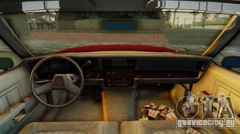Chevrolet Impala 1984 для GTA San Andreas вид сзади
