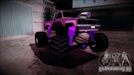 GTA 5 Karin Rebel Monster Truck для GTA San Andreas вид сверху