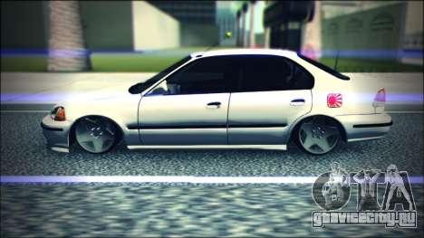 Honda Civic by Snebes для GTA San Andreas вид слева