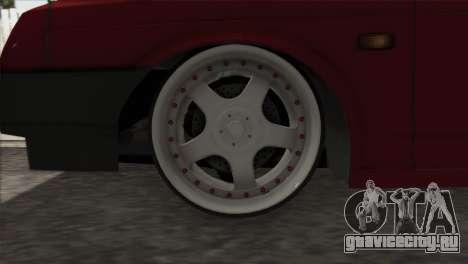 ВАЗ 2108 DropMode для GTA San Andreas вид изнутри