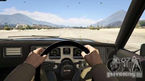 Holden HQ GTS Monaro для GTA 5 вид сзади