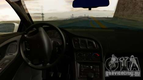 Mitsubishi Eclipse GST 1995 для GTA San Andreas вид справа