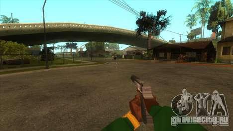 Вид от первого лица v3.0 для GTA San Andreas девятый скриншот