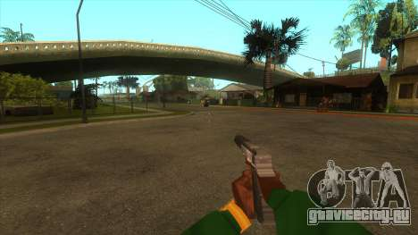 Вид от первого лица v3.0 для GTA San Andreas