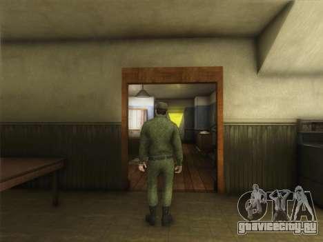 Рядовой Современной Армии России для GTA San Andreas второй скриншот