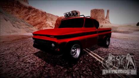 Chevrolet C10 Rusty Rebel для GTA San Andreas вид слева
