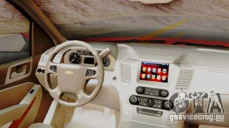 Chevrolet Suburban 2015 LTZ для GTA San Andreas вид справа