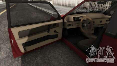 ВАЗ 2108 DropMode для GTA San Andreas вид сбоку