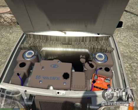 ВАЗ 2115 для GTA 5 вид сзади справа