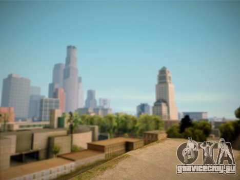 ENB GreenStyle V7.1 для GTA San Andreas четвёртый скриншот