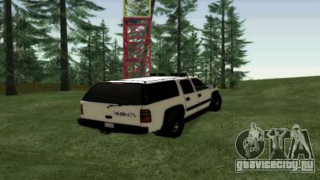 Chevrolet Suburban Offroad Final Version для GTA San Andreas вид сзади слева