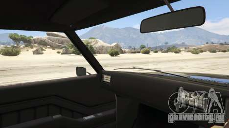 Holden HQ GTS Monaro для GTA 5 вид сзади справа