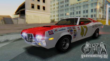 Ford Gran Torino Sport SportsRoof (63R) 1972 PJ2 для GTA San Andreas салон