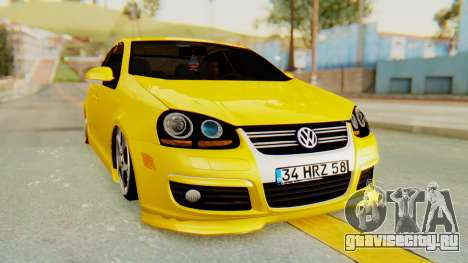 Volkswagen Jetta для GTA San Andreas вид справа