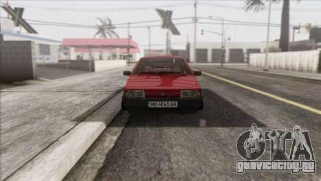 ВАЗ 2108 DropMode для GTA San Andreas вид сзади