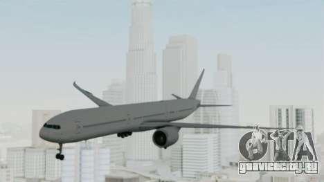 Boeing 777-9x Paintkit для GTA San Andreas вид сзади слева