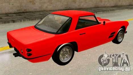 Casco from GTA 5 для GTA San Andreas вид сзади слева