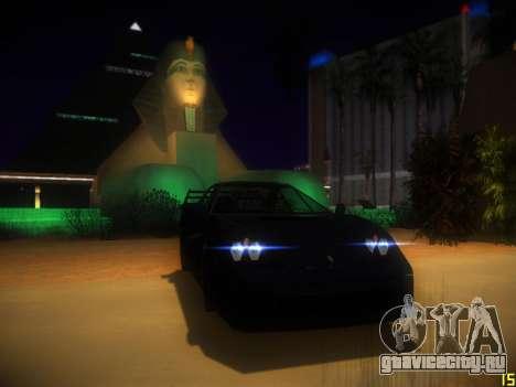 ENB Following V1.0 для средних ПК для GTA San Andreas второй скриншот