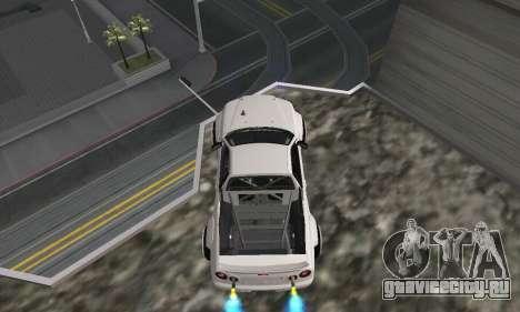 Nissan Skyline R34 Pickup для GTA San Andreas вид сзади слева
