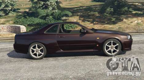 Nissan Skyline GT-R (R34) 1999 для GTA 5