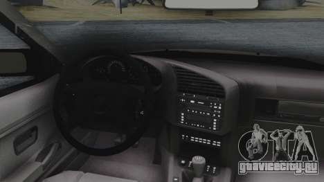 BMW 3-er E36 для GTA San Andreas вид сзади