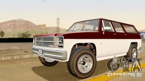 GTA 5 Declasse Rancher XL IVF для GTA San Andreas