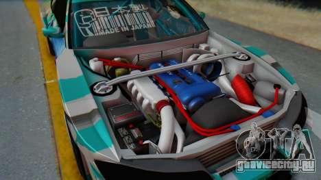 Nissan Silvia s15 Itasha [EDE-Crew] для GTA San Andreas вид справа