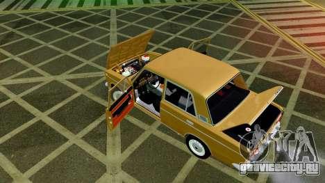 ВАЗ 2103 для GTA San Andreas вид сверху