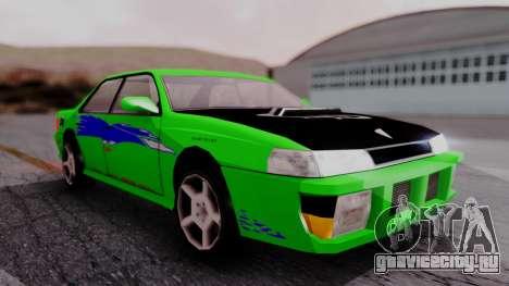Sultan F&F Eclipse PJ для GTA San Andreas