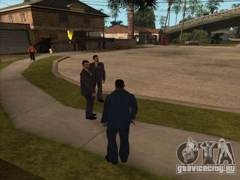 Русская мафия в Ganton для GTA San Andreas третий скриншот