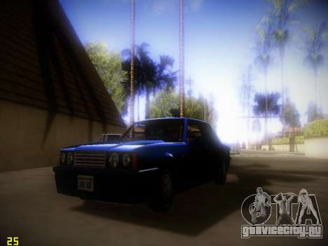 ENB Following V1.4 для слабых ПК для GTA San Andreas второй скриншот