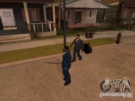 Русская мафия в Ganton для GTA San Andreas пятый скриншот