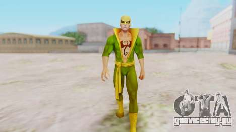 Marvel Future Fight - Iron Fist для GTA San Andreas второй скриншот