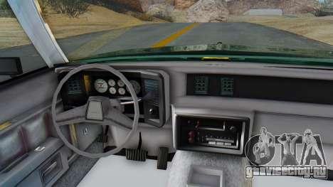 Chevrolet Malibu 1981 Twin Turbo для GTA San Andreas вид сзади