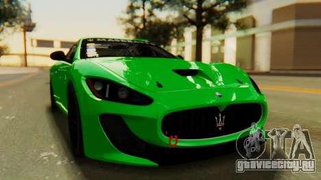 Maserati Gran Turismo Tron для GTA San Andreas вид справа