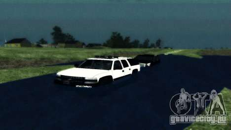 Chevrolet Suburban Offroad Final Version для GTA San Andreas вид справа
