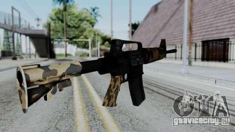 M16 A2 Carbine M727 v2 для GTA San Andreas второй скриншот