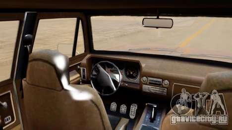 GTA 5 Declasse Rancher XL IVF для GTA San Andreas вид сзади слева