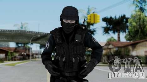 Regular SWAT для GTA San Andreas