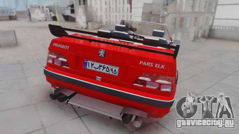 Peugeot Pars Spayder Sport для GTA San Andreas вид слева